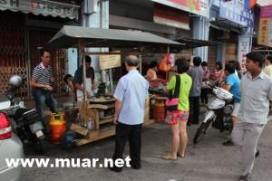 麻坡黑白炒: 炒粿&菜頭粿