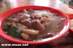 Muar Chinese Food :: Teochew Pork Offal Soup