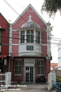 Dutch Houses in Muar