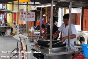 The Glutton Street (Jalan Haji Abu between Jalan Merium and Jalan Ali)