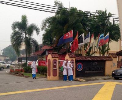 Schools in Muar and Ledang reopened Tuesday.