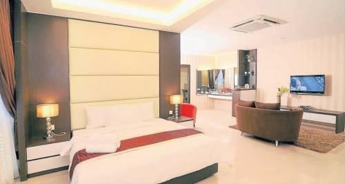 廉价酒店房间的摆设, 不逊于星级酒店, 价廉物美, 颇受住客的欢迎。