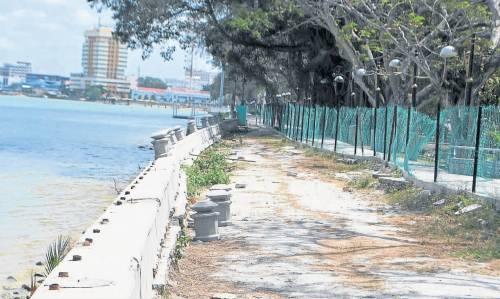 建码头及重修坍塌河堤 3千万拓麻黄金丹绒河滨