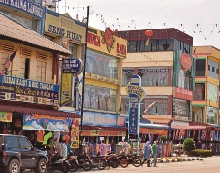 Tangkak: A town made famous by the textile trade