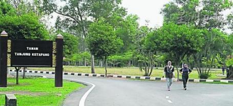 南利:增設休閒設施‧10萬提升丹絨哥打邦公園 [Taman Tanjung Ketapang upgrading is in progress]
