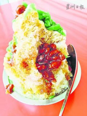 麻坡下午茶點好去處‧煎蕊炸香蕉最佳組合 [Fried banana & Cendol at Jalan Hashim]
