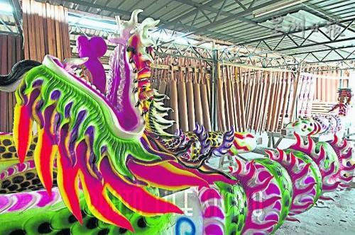 雖然,益華村的製香業已不如往昔,但是,本外地的神廟理事會都向該村製香業訂購龍香。